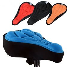 Funda sillín asiento bicicleta de confort gel capa cómodo montaña ciclismo paseo