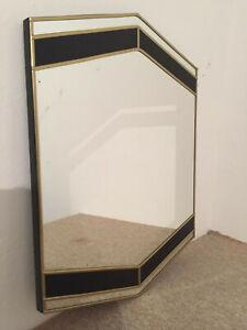 Hexagon Handmade Gold Mirror