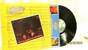 1977 America Live Vinyl LP 33 Warner Bros Records BSK 3136 Rock