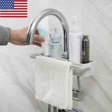 1* Kitchen Sink Faucet Sponge Storage Organizer Cloth Drain Rack Holder Shelf US