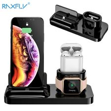 RAXFLY 3 IN 1 Magnetic Phone Charger iPhone Wireless Apple Watch Dock Station
