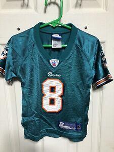 Vintage Reebok Daunte Culpepper Miami Dolphins Football Jersey Toddler 3T Rare