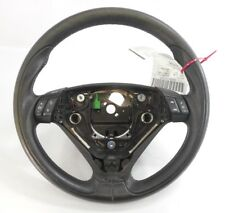 04 2004 Volvo S60 R Model Steering Wheel W/ Controls OEM Black W/ Blue Stitching