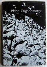 Plane Trigonometry by Rice & Strange (1975, hardcover)