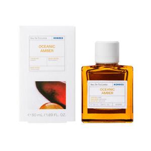 Korres Eau De Toilette,EDT,Fragrance Men,Oceanic Amber ,50ml