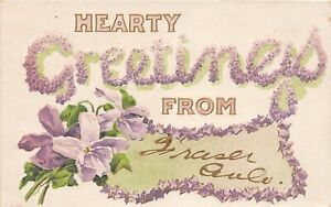 H72/ Fraser Colorado Postcard c1910 Greetings from Frase Colo 130
