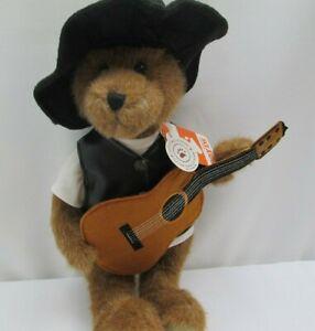 "Boyds Bears ""CASH"" #4038156- 14"" Plush Bear- NWT-2013 -Retired"