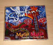 CD Maxi-Single - Santana - Maria Maria