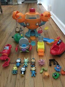 Huge Lot Fisher Price OCTONAUTS Figures + Octopod Playset + Vehicles + MORE!!!