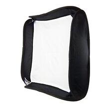 Caja de Luz Softbox Ventana 40x40 Plegable +Anillo para Flash Estudio Foto Video