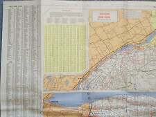 1970 NEW YORK MOBIL TRAVEL MAP
