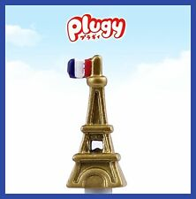 1pc Japan plugy gold Eiffel tower Cell Phone Anti Dust Earphone Plug Cap