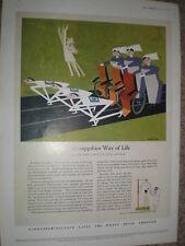 Schweppes Schweppshire Way of Life number 5 art colour advert 1954 refO50s