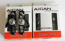 Aican Road bike brake Super Light holder shoes catridge for Shimano Black, 2 pc
