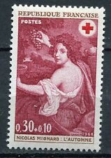 STAMP / TIMBRE FRANCE NEUF  N° 1581 ** CROIX ROUGE L'AUTOMNE