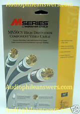 Monster Cable M850cv  4' Component Video Cable