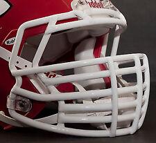 *CUSTOM* KANSAS CITY CHIEFS Riddell SPEED Football Helmet Facemask - WHITE