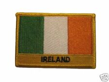 Ireland Embroidered Flag patch-Iron on orSew