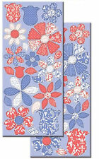 WILDBERRY PETALS CHIPBOARD Stickers scrapbooking (2) Large Sheets FLOWERS