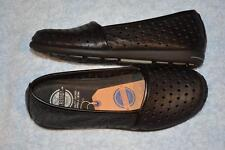 RIVERS SHOES. Size 40 -8.5. BLACK LEATHER Shoes. NEW. Flat Sole. BALSTA Style