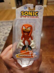 """SONIC THE HEDGEHOG - KNUCKLES - 3"""" Action Figure - Jazwares - Sega."""