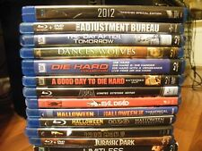 BLU-RAY Blu Ray MOVIE LOT U Pick Horror Action DISCOUNTS FREE SHIPPING after 1st