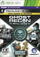 Ghost Recon Trilogía-Microsoft Xbox 360 [Ubisoft Tom Clancy 3 Juegos futuro]