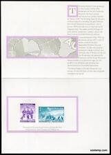 Australia Replica Card #8 Antarctic AAT Unissued Stamps Die Proof