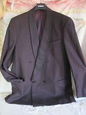 edler Smoking Anzug WILVORST Gr. 54 Farbton: purpur zur Hochzeit 1 x getragen