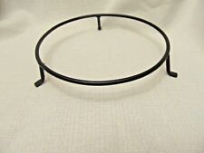 Primitive Country FAMILY decorative 7 inch Metal Bowl Holder ONLY