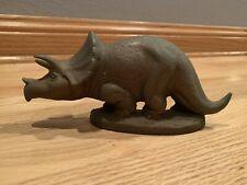 Sinclair Dinoland  Mold-a-rama Dinosaur Greenish Brown Triceratops