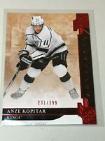 F37517 2019-20 UD Artifacts Ruby Red /399 ANZE KOPITAR KINGS
