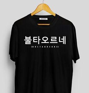 BTS Bultaoreune Unisex T-Shirt/Bts Fire shirt/Korean T-shirt/bangtan boys shirt