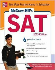 McGraw-Hill's SAT, 2013 Edition [Jun 12, 2012] Black, Christopher and Anestis,..