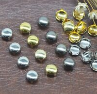 100Pcs Dome Claw Studs Rivets DIY Craft Supplies Leathercraft 5/6/7/8/9/10/12mm