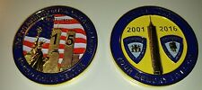 Port Authority Police NY & NJ 15th Anniversary WTC Memorial Coin PAPD not NYPD