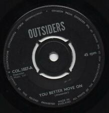 Outsiders mejor avanzar * harto 1960s Reino Unido privado pulsando R&B Beat