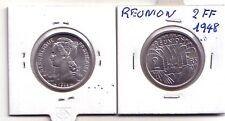 Reunion 2 franchi 1948  FDS  UNC   KM 8