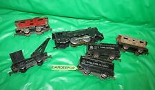 6 Marx O Scale Trains New York Central Lines Tin Metal With Electric Locomotive