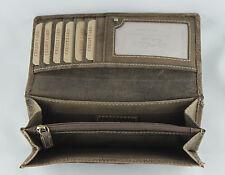 Wallet Natural Leather Women's Purse Card Holder Portemonnee Jockey Club