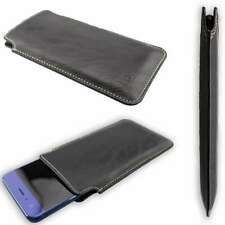 caseroxx Business-Line Case voor Nubia X in black gemaakt van faux leather