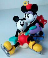 1997 Hallmark Keepsake Ornament Mickey & Co New Pair of Skates Minnie