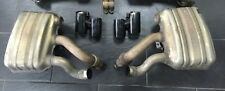 Genuine Porsche 911 991 Exhaust Box Cans and Clamps