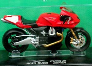 Moto Guzzi, MGS-01 CORSA, 1:24 Scale Model, In Display Case, By Starline Models.