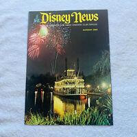 Disney News Magic Kingdom Club Magazine Haunted Mansion Summer 1969 Disneyland
