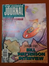 Comics Journal #127 Bill Watterson Calvin Hobbes Interview