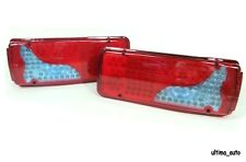 2 x Led Rear Tail Lights Truck Lorry Trailer Fits Iveco Scania Volvo Daf Man 24v