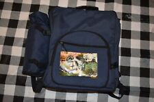 NEW Picnic Essentials Blue Backpack and Picnic Set 4 People