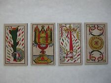 """Magnetic """"Tarot of Marseille"""" Aces for Meditation/Contemplation--All Four Suits!"""