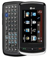 LG Xenon GR500 (AT&T) Cellular Phone - GSM Network- Blue, Red & Black